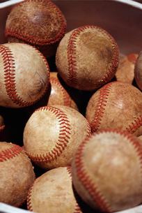 野球のボールの写真素材 [FYI01380344]