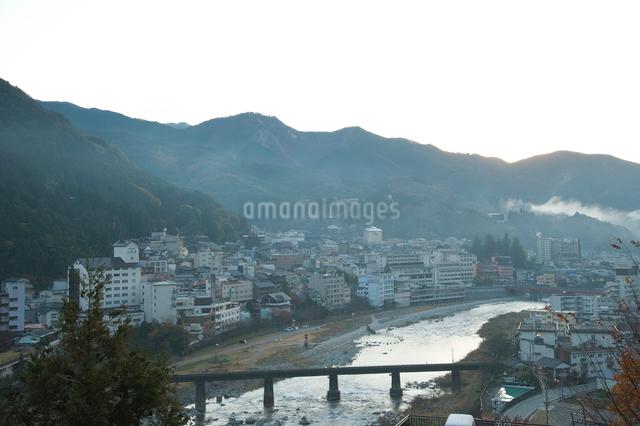 下呂温泉街の写真素材 [FYI01382574]