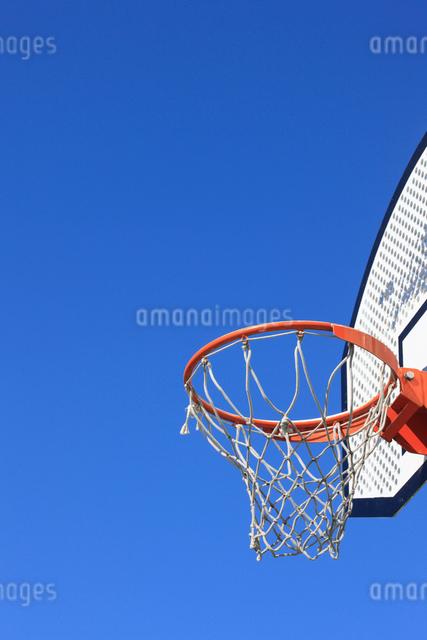 バスケットゴールの写真素材 [FYI01382916]