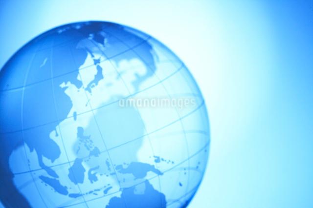 地球儀の写真素材 [FYI01385643]