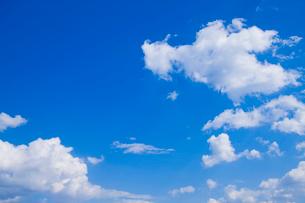 青空と雲の写真素材 [FYI01386453]