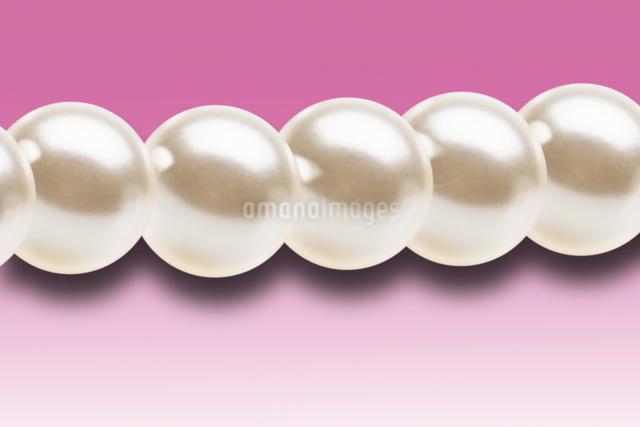 真珠のネックレスの写真素材 [FYI01387166]