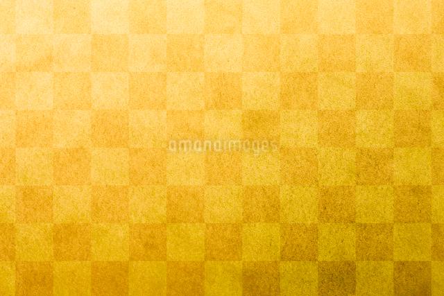 市松模様の金紙の写真素材 [FYI01387233]
