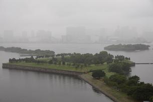 お台場から望む品川の写真素材 [FYI01387490]