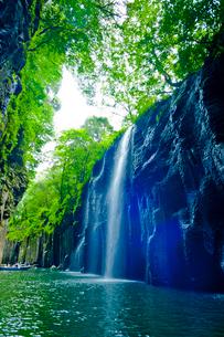 高千穂峡 真名井の滝の写真素材 [FYI01387544]