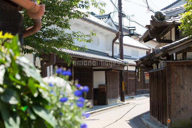 五條新町の町並の写真素材 [FYI01389715]