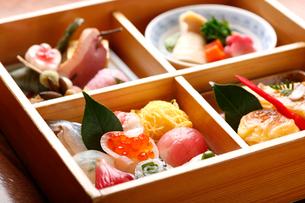 和食のお弁当の写真素材 [FYI01390573]
