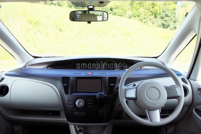 運転席の写真素材 [FYI01391015]