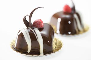 バレンタインケーキの写真素材 [FYI01391261]