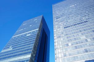 ビジネス街のビルディングの写真素材 [FYI01391450]