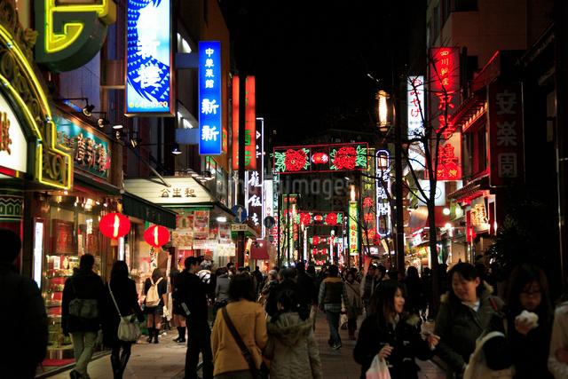 横浜中華街の写真素材 [FYI01391588]