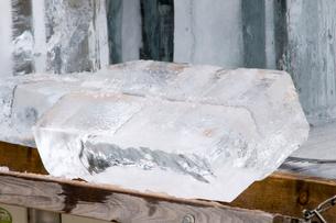 氷の写真素材 [FYI01392387]