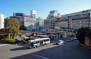 横浜駅西口の写真素材 [FYI01392643]