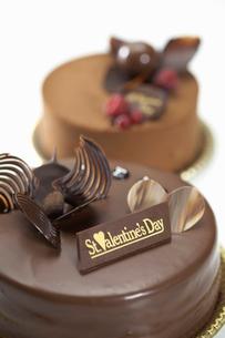 バレンタインケーキの写真素材 [FYI01392850]