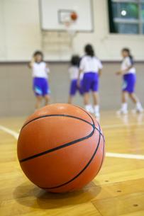 バスケットボールの写真素材 [FYI01393996]