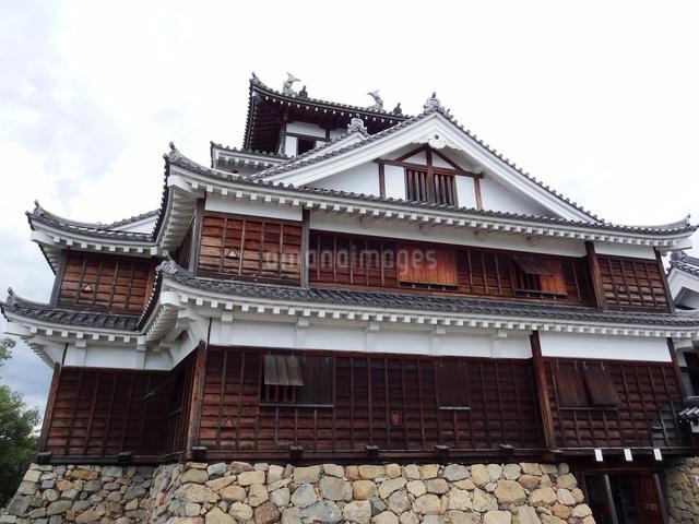 福知山城の天守閣の写真素材 [FYI01396766]