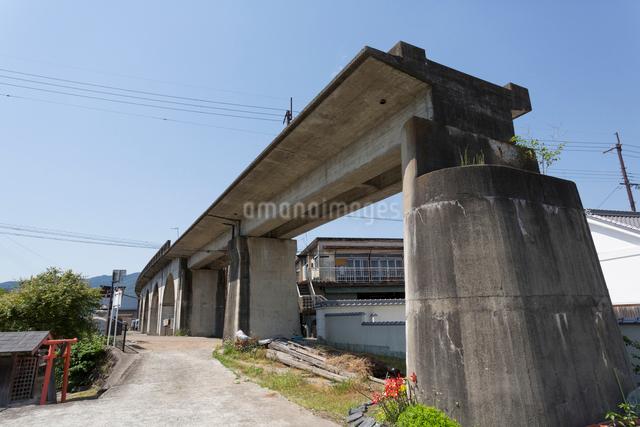 五新鉄道の橋脚の写真素材 [FYI01396931]