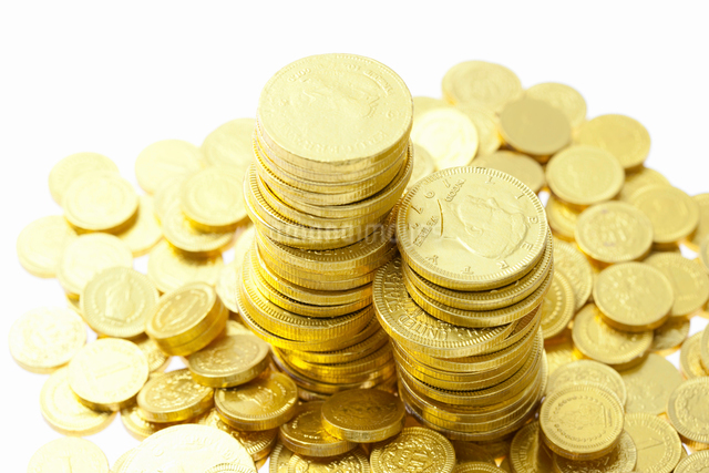 金貨の写真素材 [FYI01397872]