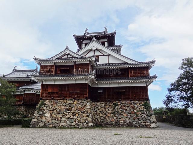 福知山城の天守閣の写真素材 [FYI01400956]