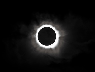 2012年オーストラリアの皆既日食の写真素材 [FYI01401960]