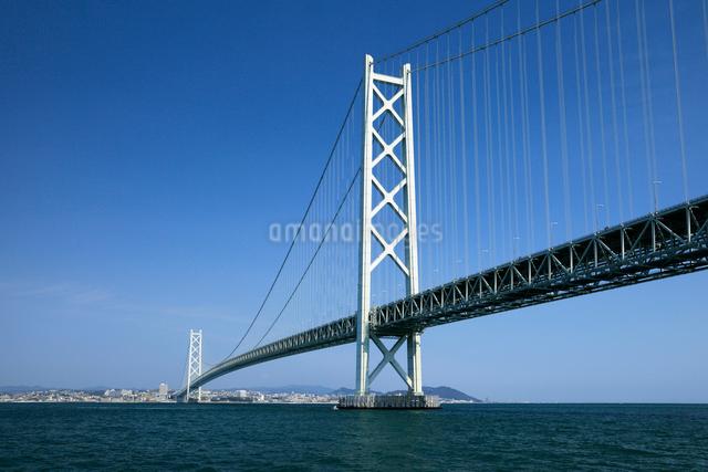 明石海峡大橋の写真素材 [FYI01402587]