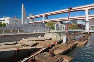 神戸港震災メモリアルパークの写真素材 [FYI01403065]