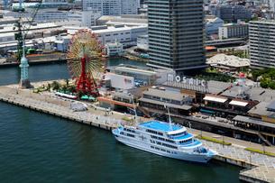 ポートタワーからの神戸ハーバーランドの写真素材 [FYI01403260]