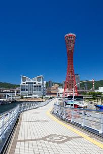 神戸メリケンパークの写真素材 [FYI01403365]