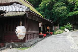 嵯峨鳥居本の鮎茶屋の写真素材 [FYI01403520]