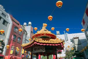南京町の町並みの写真素材 [FYI01403821]
