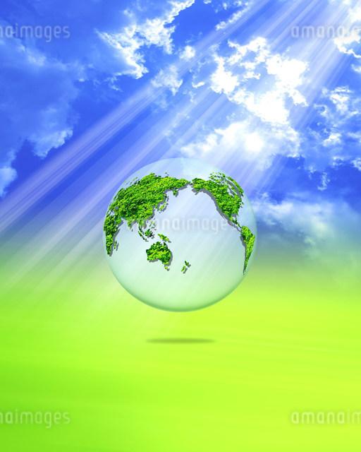 地球イメージのイラスト素材 [FYI01403903]