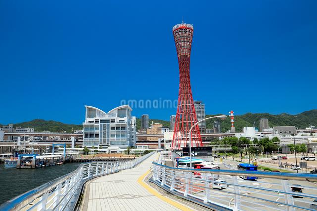 神戸メリケンパークの写真素材 [FYI01404072]