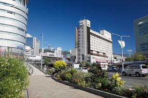三宮の街並みと神戸市街の写真素材 [FYI01404246]