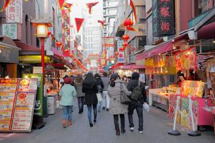 神戸南京町の写真素材 [FYI01404504]
