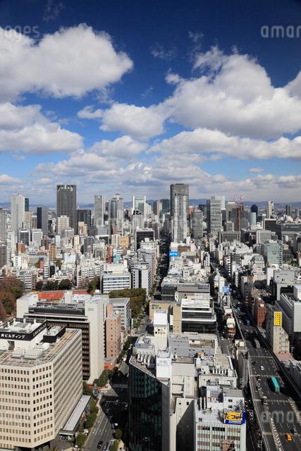 大阪市街の町並みの写真素材 [FYI01404719]