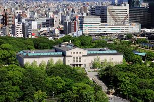 大阪市立美術館と天王寺公園の写真素材 [FYI01404779]