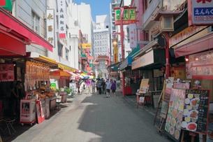 南京町の町並みの写真素材 [FYI01405217]