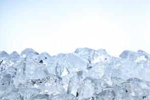 氷の背景素材の写真素材 [FYI01405282]