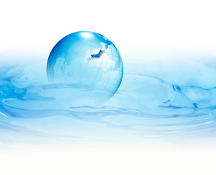 水と地球の写真素材 [FYI01405897]