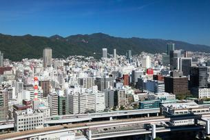 ポートタワーより望む神戸市街の写真素材 [FYI01405911]