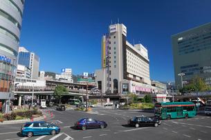 三宮の街並みと神戸市街の写真素材 [FYI01405912]