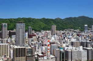 ポートタワーからの神戸市街の写真素材 [FYI01406177]