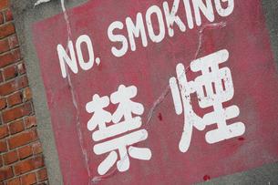 禁煙の標示の写真素材 [FYI01406312]