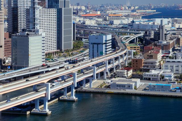 ポートタワーより望む阪神高速道路の写真素材 [FYI01406409]