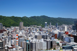 ポートタワーからの神戸市街の写真素材 [FYI01406715]