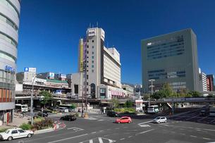 三宮の街並みと神戸市街の写真素材 [FYI01406836]