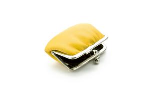 黄色い財布の写真素材 [FYI01407248]