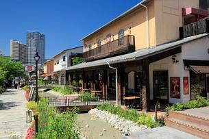 神戸ハーバーランドのモザイクの街並みの写真素材 [FYI01407292]