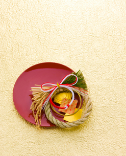 正月飾りの写真素材 [FYI01407638]