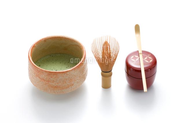 抹茶と茶道具の写真素材 [FYI01409505]